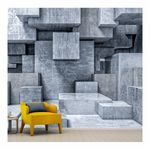 Ταπετσαρία τοίχου 3D κύβοι