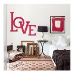 Αυτοκόλλητο τοίχου Love
