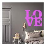 Αυτοκόλλητο τοίχου Love 1