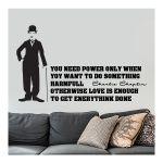 Αυτοκόλλητο τοίχου Charlie Chaplin 2