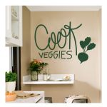 Αυτοκόλλητο τοίχου Cook Veggies 2