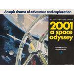 Αφίσα 2001: A Space Odyssey 1968 (2)