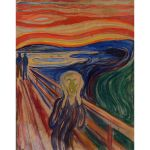 Αφίσα Edvard Munch - Scream 1910