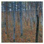 Αφίσα Gustav Klimt - Beech Grove 1902