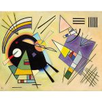 Αφίσα Wassily Kandinsky - Black and Violet 1923