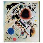 Πίνακας Wassily Kandinsky - Black spot 1921