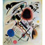 Αφίσα Wassily Kandinsky - Black spot 1921