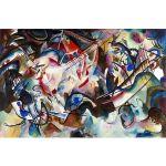 Αφίσα Wassily Kandinsky - Composition VI 1913