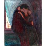 Αφίσα Edvard Munch - The Kiss 1897