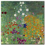 Πίνακας Gustav Klimt - Flower Garden 1907