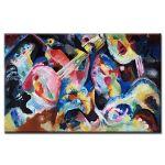 Πίνακας Wassily Kandinsky - Improvisation Deluge 1913