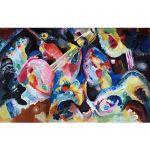Αφίσα Wassily Kandinsky - Improvisation Deluge 1913