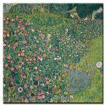 Πίνακας Gustav Klimt - Italian Garden Landscape 1913