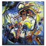 Πίνακας Wassily Kandinsky - Moscow Red Square 1916