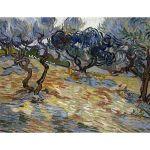 Αφίσα Vincent Van Gogh - Olive Trees 1889