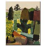 Πίνακας Paul Klee - Park 1914