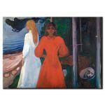 Πίνακας Edvard Munch -  Red and white 1900