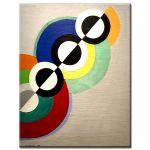 Πίνακας Robert Delaunay - Rythmes 1934