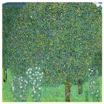 Αφίσα Gustav Klimt - Rosebushes under the Trees 1905