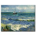Πίνακας Vincent Van Gogh - Seascape near les saintes maries de la mer 1888