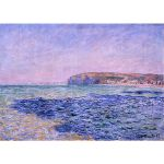 Αφίσα Claud Monet - Shadows on the sea 1882