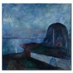 Πίνακας Edvard Munch - Starry Night 1893