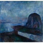 Αφίσα Edvard Munch - Starry Night 1893