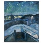 Πίνακας Edvard Munch - Starry Night 1924