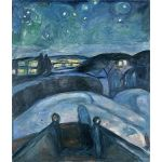 Αφίσα Edvard Munch - Starry Night 1924