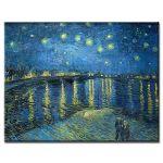 Πίνακας Vincent Van Gogh - Starry Night over the Rhône 1888