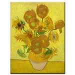 Αφίσα Vincent Van Gogh - Sunflowers 4rd ii 1889