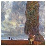 Αφίσα Gustav Klimt - The Big Poplar (Gathering Storm) 1903