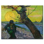 Πίνακας Vincent Van Gogh - The Sower with Setting Sun 1888