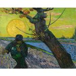 Αφίσα Vincent Van Gogh - The Sower with Setting Sun 1888