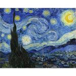 Αφίσα Vincent Van Gogh - The Starry Night 1889