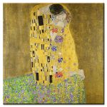 Πίνακας Gustav Klimt - The kiss 1908