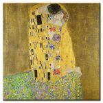 Πίνακας Gustav Klimt - The kiss 1908