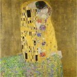 Αφίσα Gustav Klimt - The kiss 1908