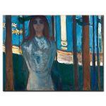 Πίνακας Edvard Munch - The Voice / Summer Night - 1896