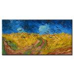 Πίνακας Vincent Van Gogh - Wheatfield with Crows 1890