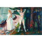 Αφίσα Edvard Munch - Woman 1925