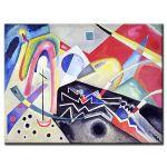 Πίνακας Wassily Kandinsky - White zig zags 1922