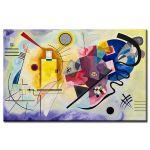 Πίνακας Wassily Kandinsky - Yellow Red Blue 1925