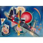 Αφίσα Wassily Kandinsky - Yellow Red Blue 1925