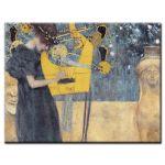 Πίνακας Gustav Klimt - Music I 1895