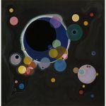 Αφίσα Wassily Kandinsky - Several circles 1926