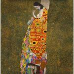 Αφίσα Gustav Klimt - Hope ii 1908