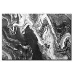 Πίνακας Black & white Marble