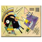 Πίνακας Wassily Kandinsky - Black and Violet 1923