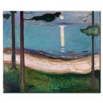 Πίνακας Edvard Munch -  Moonlight 1895
